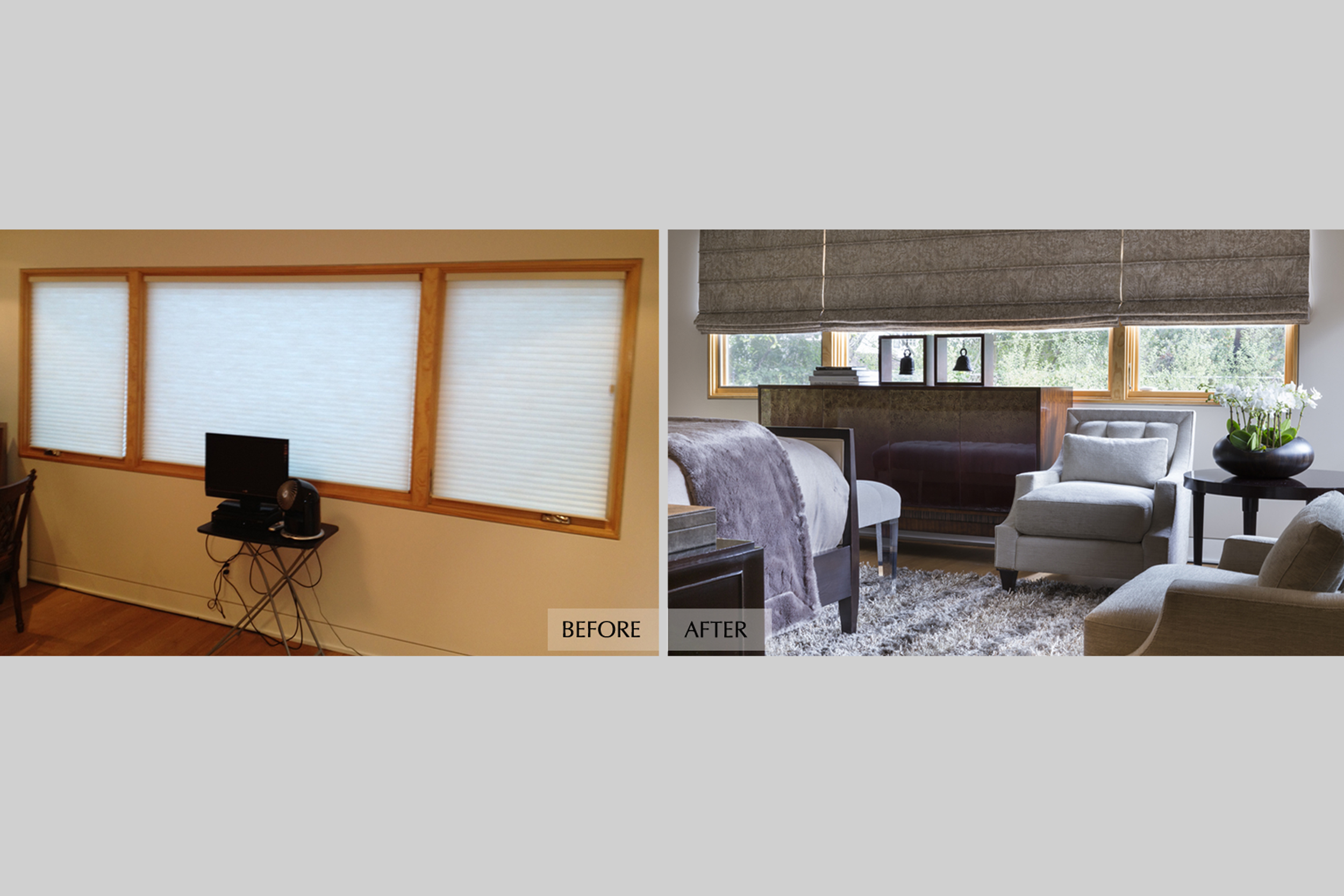DESIGN415 | Before and After Atherton Bedroom Design