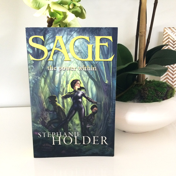 Sage, The Power Within  – Stephanie's first novel