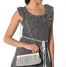 Franchi Silver bag on model.jpg