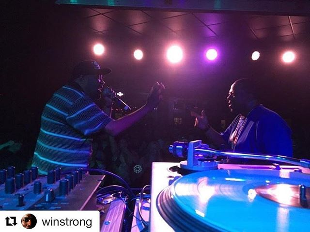 Good times on this @officialblackalicious tour! Thanks to o everyone for coming out! See you all again very soon!  #blackalicious #tour #hiphop  #Repost @winstrong ・・・ In the Rhyme zone @iamthegiftofgab and @vursatyl1 @tophatlounge 🐐
