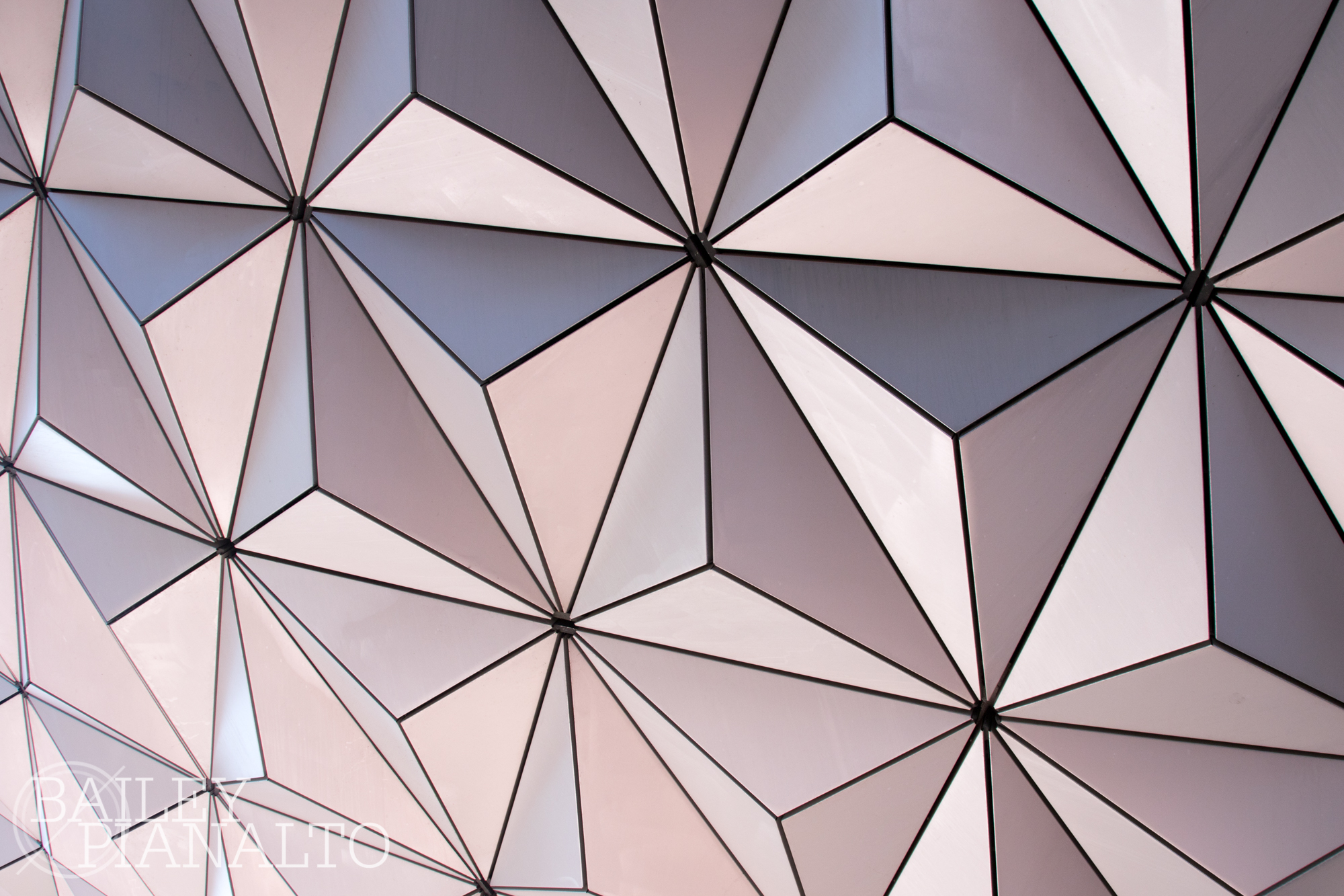 Closeup of Spaceship Earth