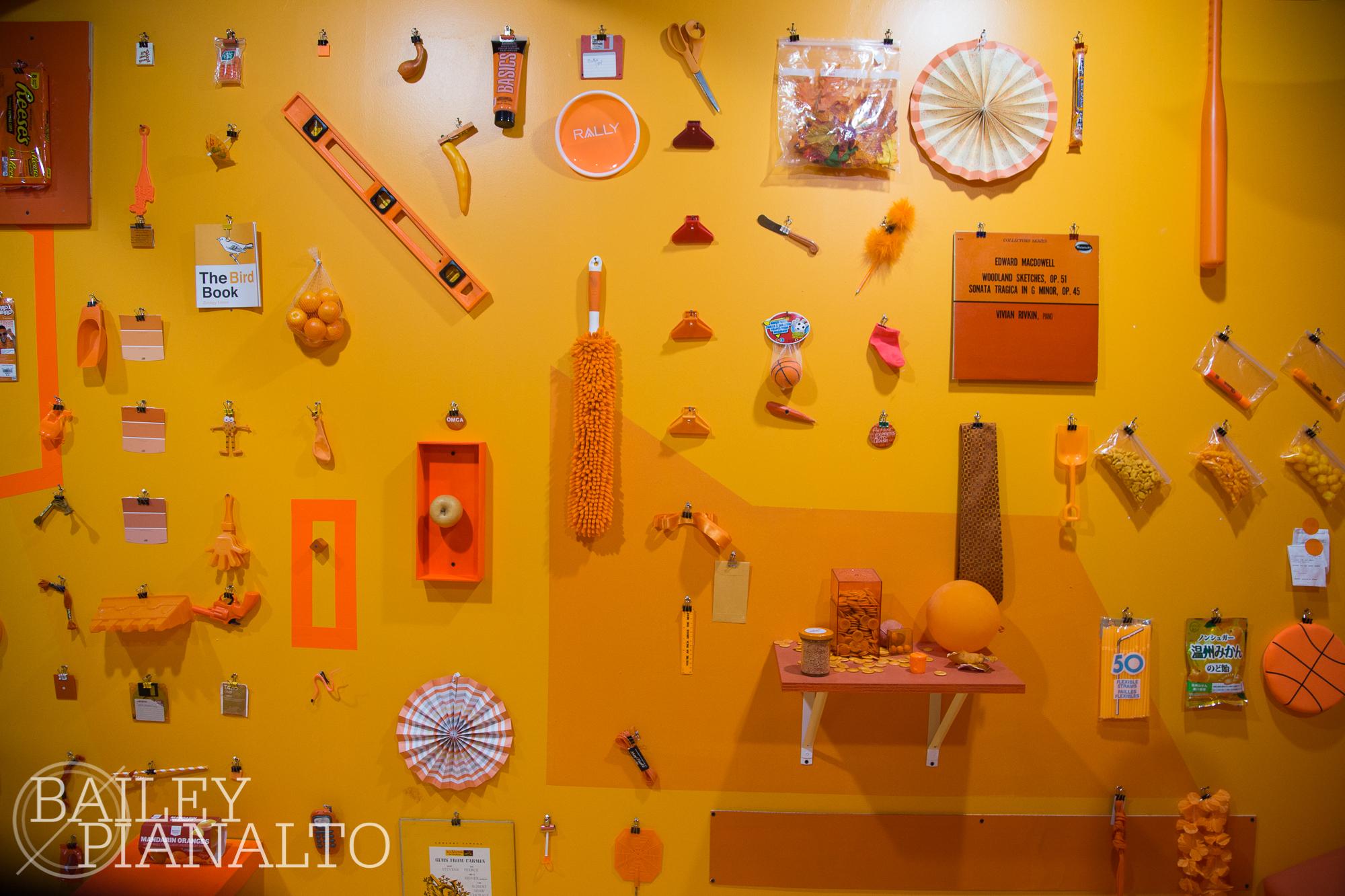 All things orange.