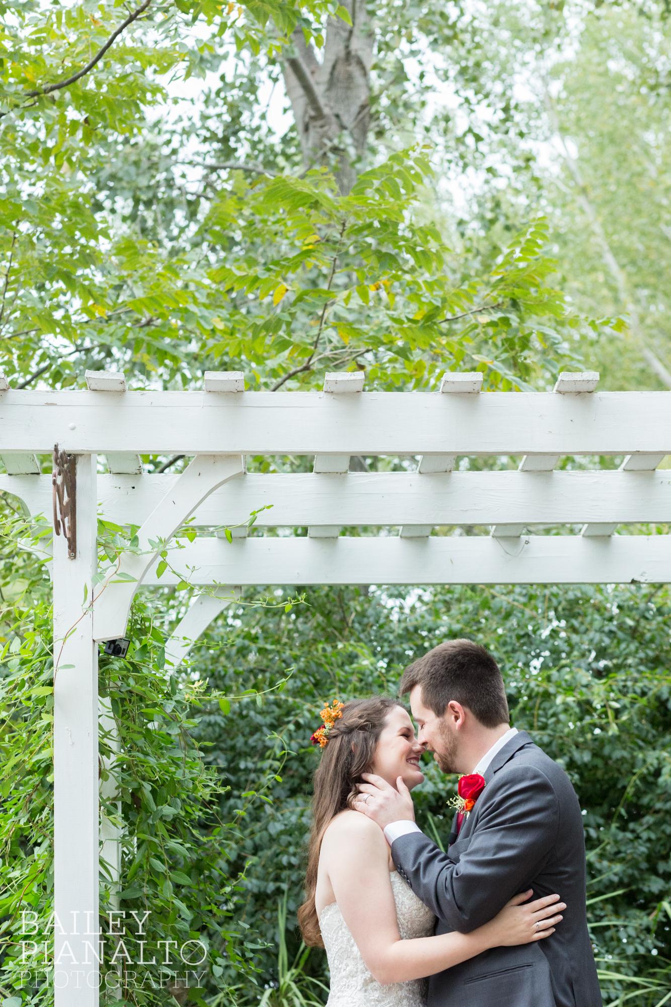 September Victorian Garden Wedding | Lawrence, KS