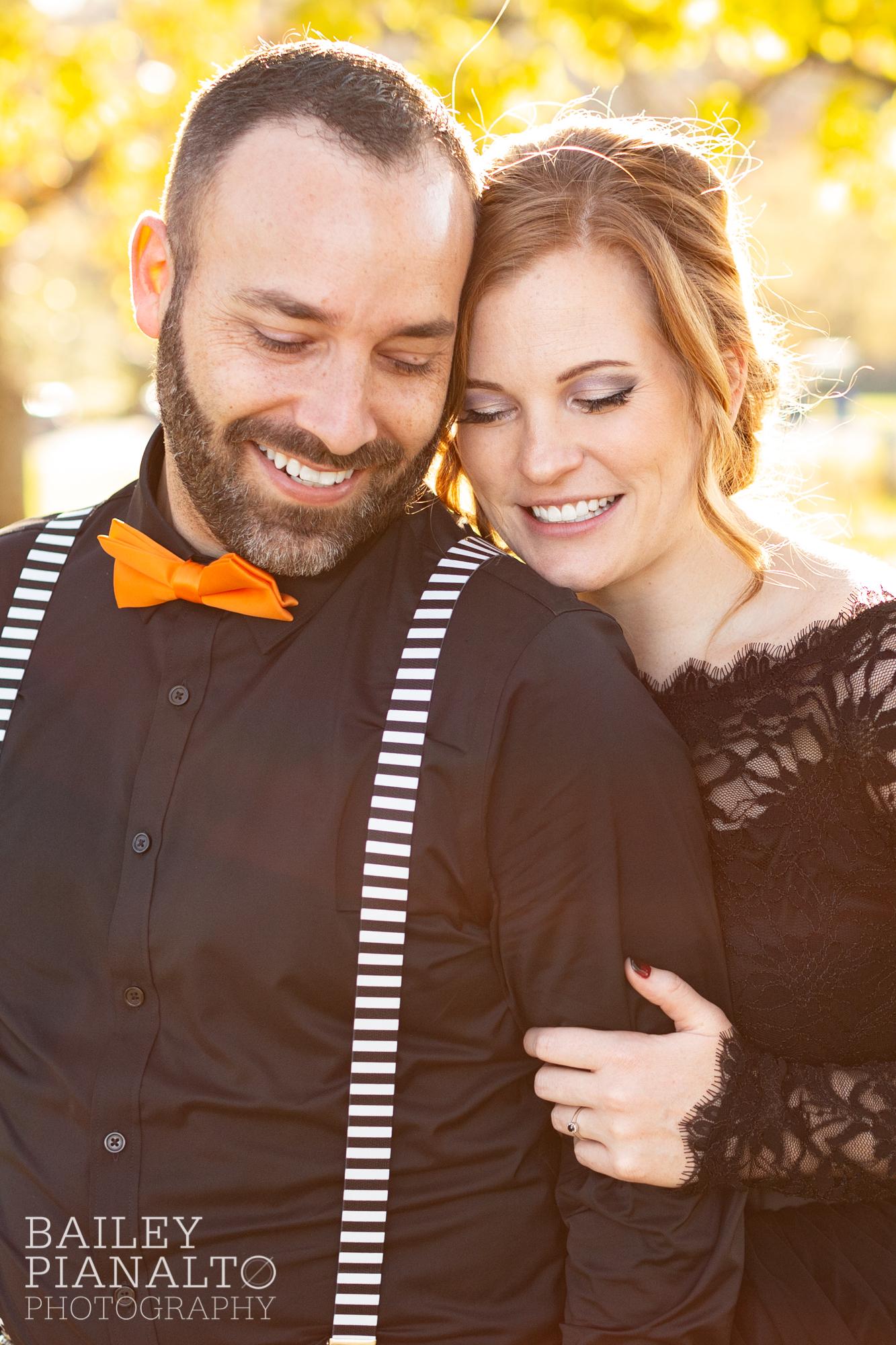 Fall-tastic Halloween-themed Wedding | Shawnee, KS
