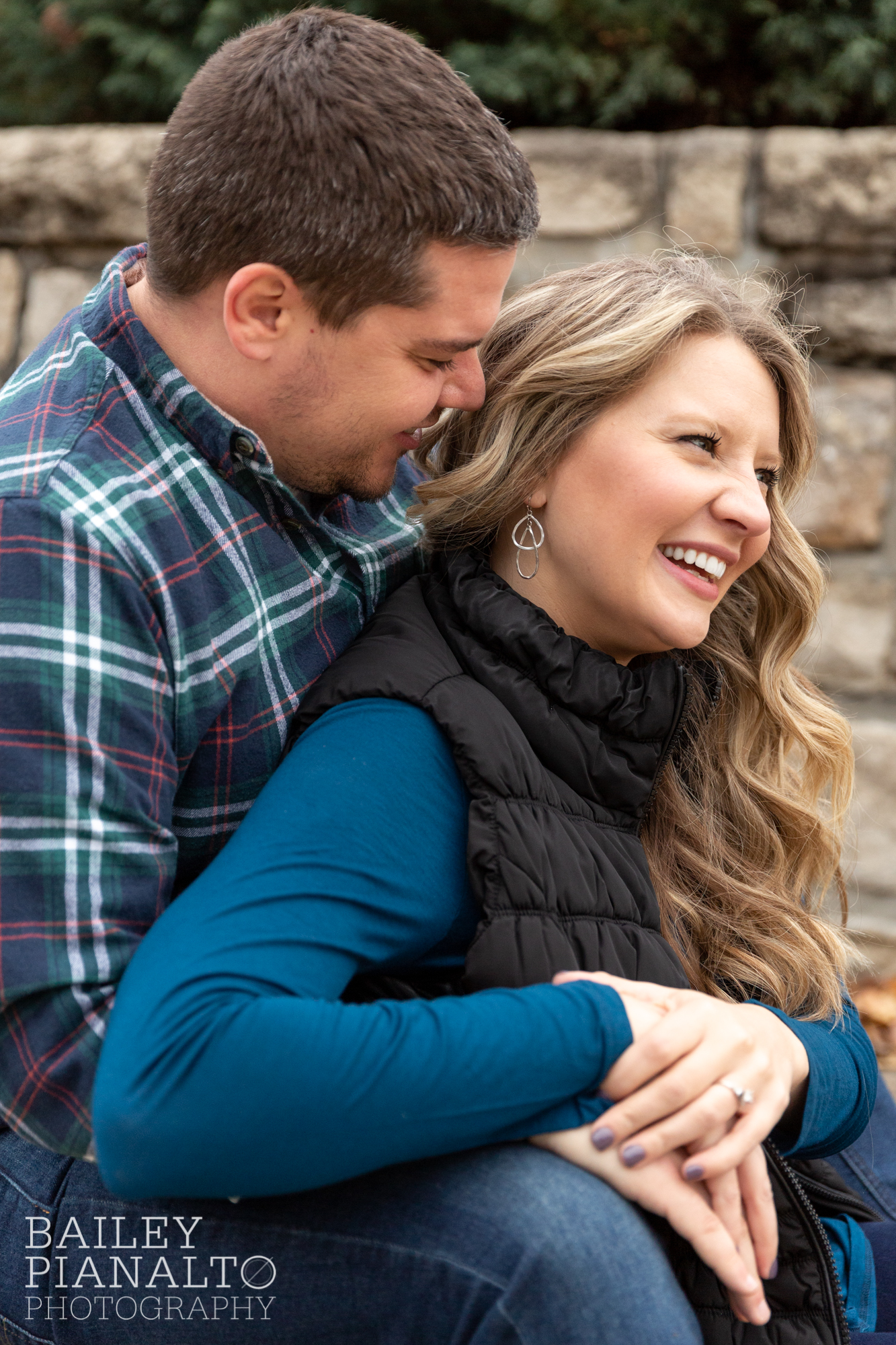 Final Days of Fall Engagement Session   Kansas City, MO