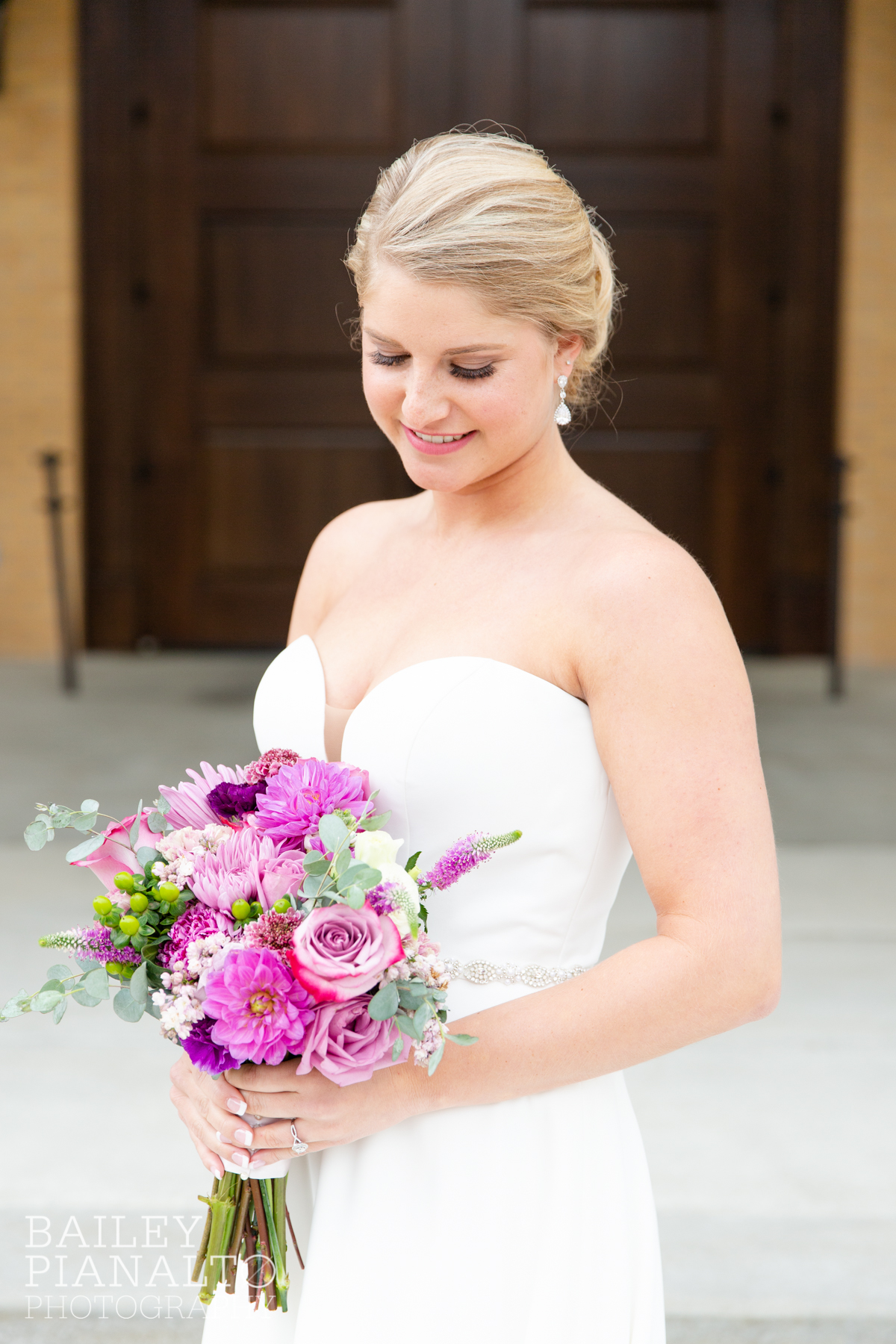 Elegant Lilac & Green Spring Wedding Inspiration with planner - As You Wish KC, gown - Belle Vogue Bridal, flowers - Lily Floral Designs, catholic church ceremony - St. Michael the Archangel, venue - Embassy Suites Olathe |  Kansas City, MO