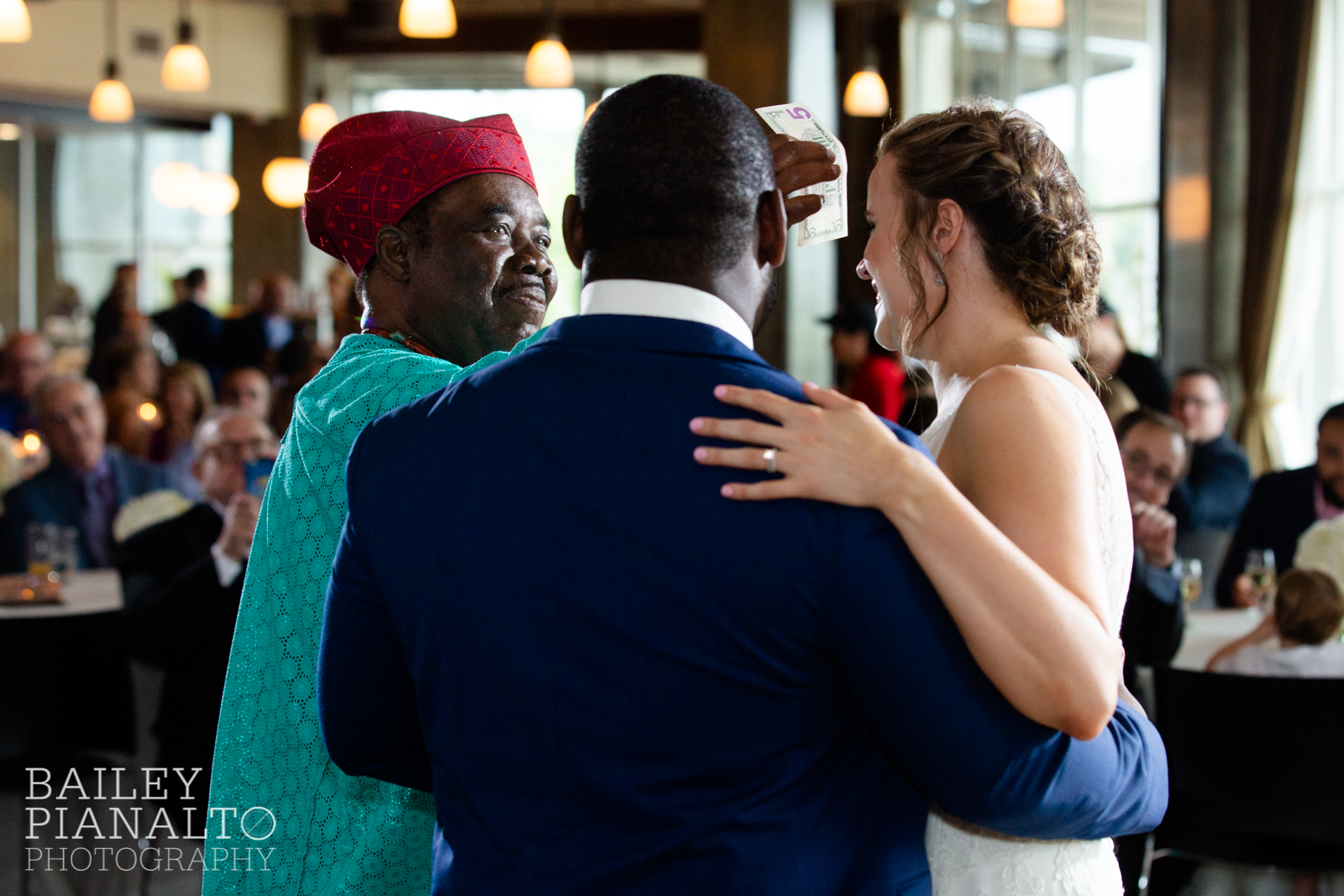 Classic White, Gold & Navy Summertime Wedding with Bridal Extraordinaire, Tip Top Tux, Boulevard Brewing Co., and Country Club Christian Church | Kansas City, MO