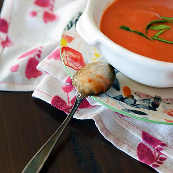 Quick Tomato Soup - Global Dish - Stephanie Arsenault