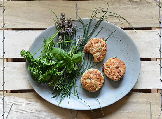 Mixed Herb and Cheese Biscuits - Global Dish - Stephanie Arsenault