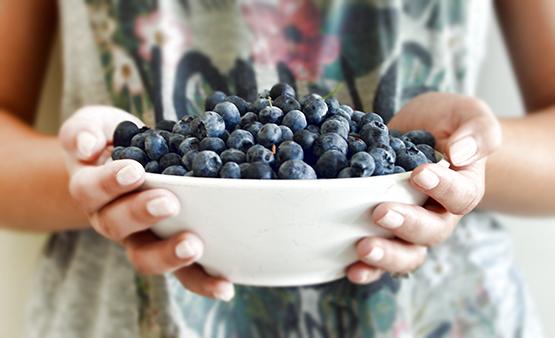 Blueberry Soba Noodle Salad - Global Dish - Stephanie Arsenault