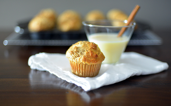 Eggnog Coconut Muffins - Stephanie Arsenault - Global Dish