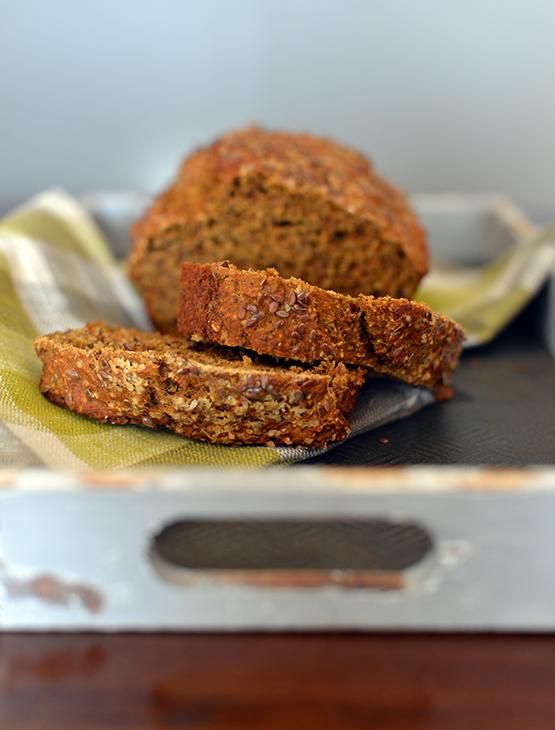Spice Butternut Squash Bread - Global Dish - Stephanie Arsenault