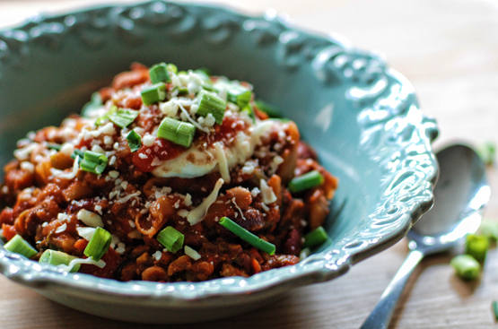 slow-cooked turkey chili - Global Dish - Stephanie Arsenault