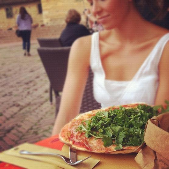 Stephanie in San Gimignano - Global Dish - Stephanie Arsenault