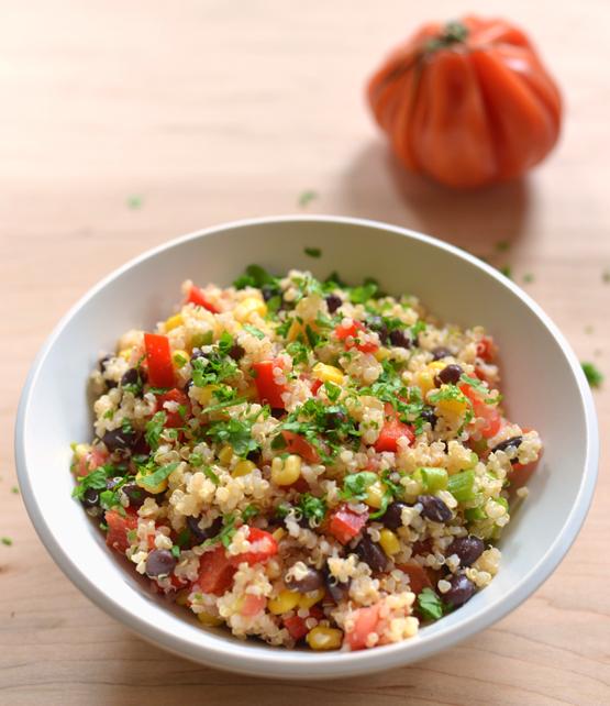 Black Bean Salsa Salad - Global Dish - Stephanie Arsenault