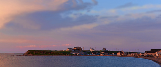 Sunset in La Grave in the Magdalen Islands - Global Dish - Stephanie Arsenault