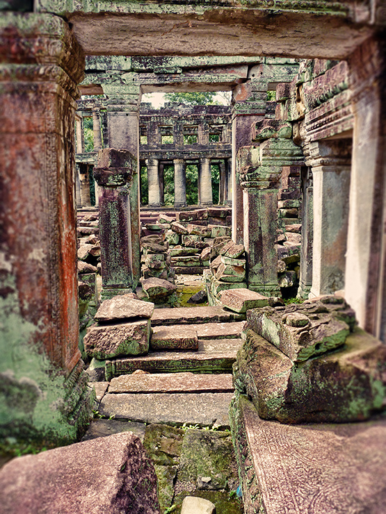 Cambodian Ruins - Stephanie Arsenault - Global Dish