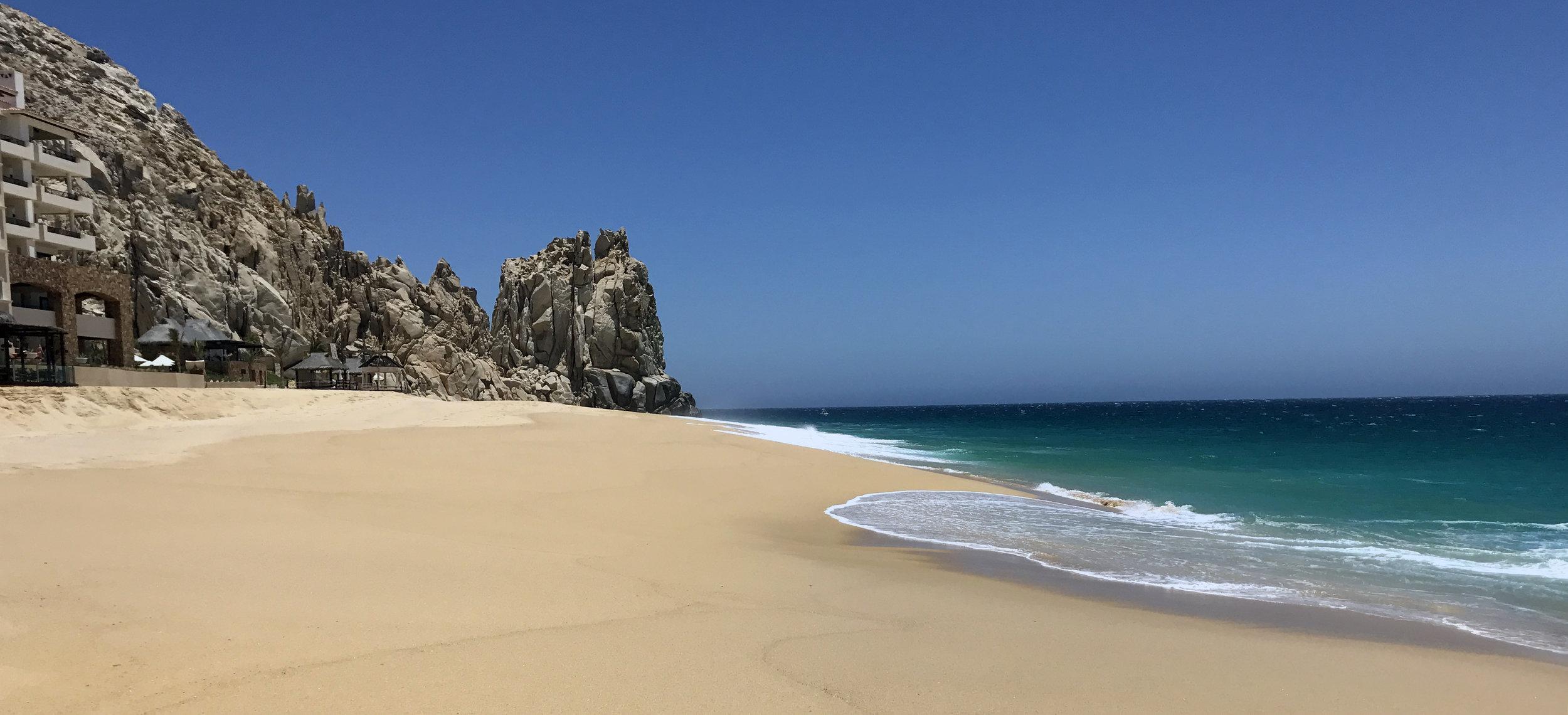 Beautiful beaches of Cabo San Lucas - Stephanie Arsenault - Global Dish