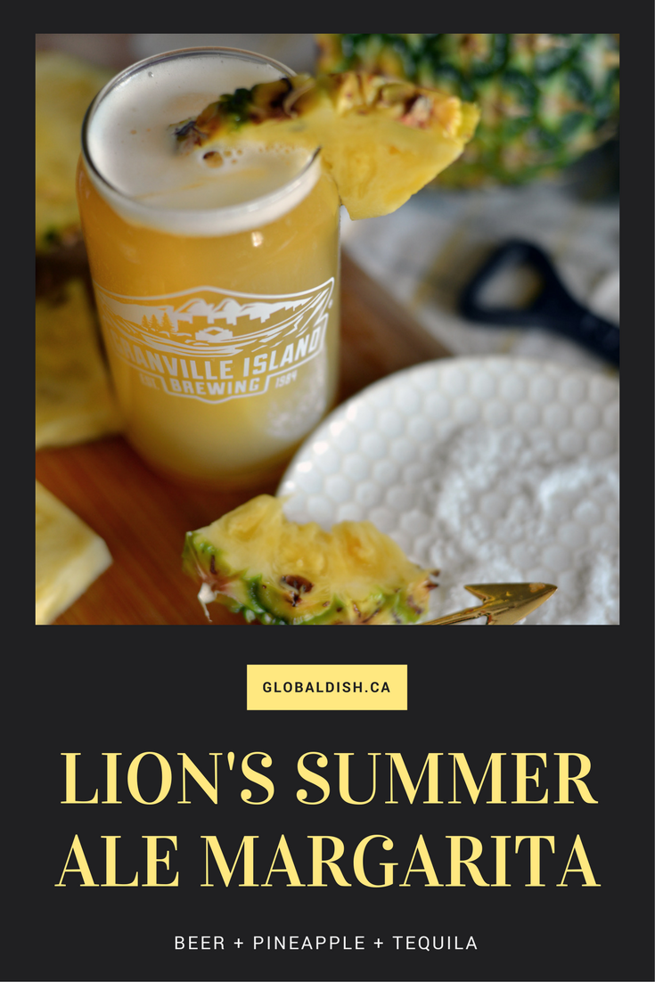 Granville Island Lion's Summer Ale - Global Dish - Stephanie Arsenault