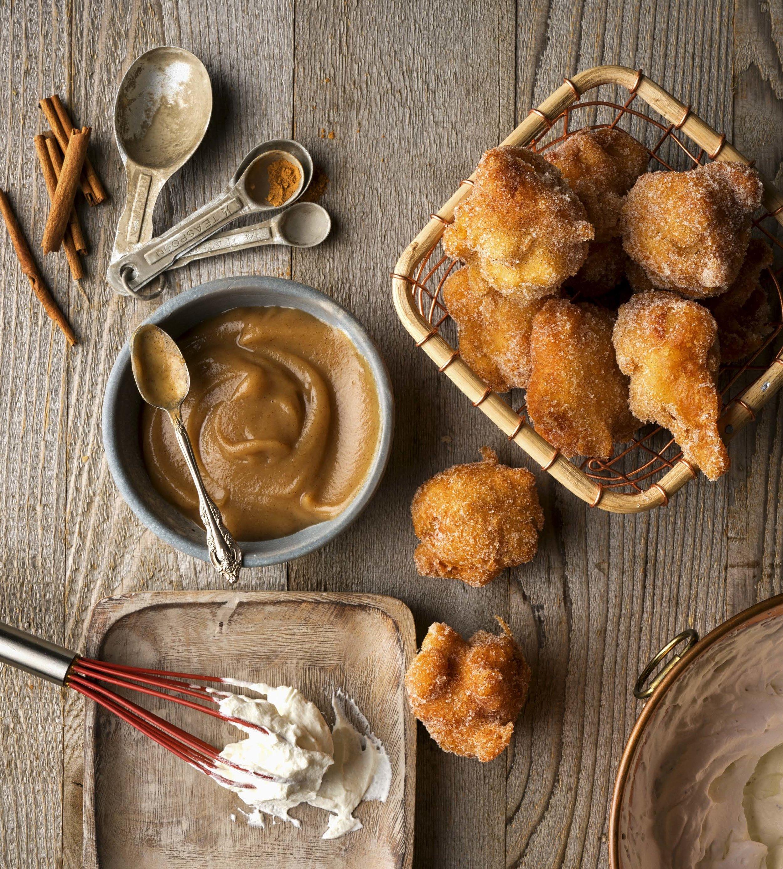 "Apple Fritters from ""The Okanagan Table"" - Global Dish - Stephanie Arsenault"