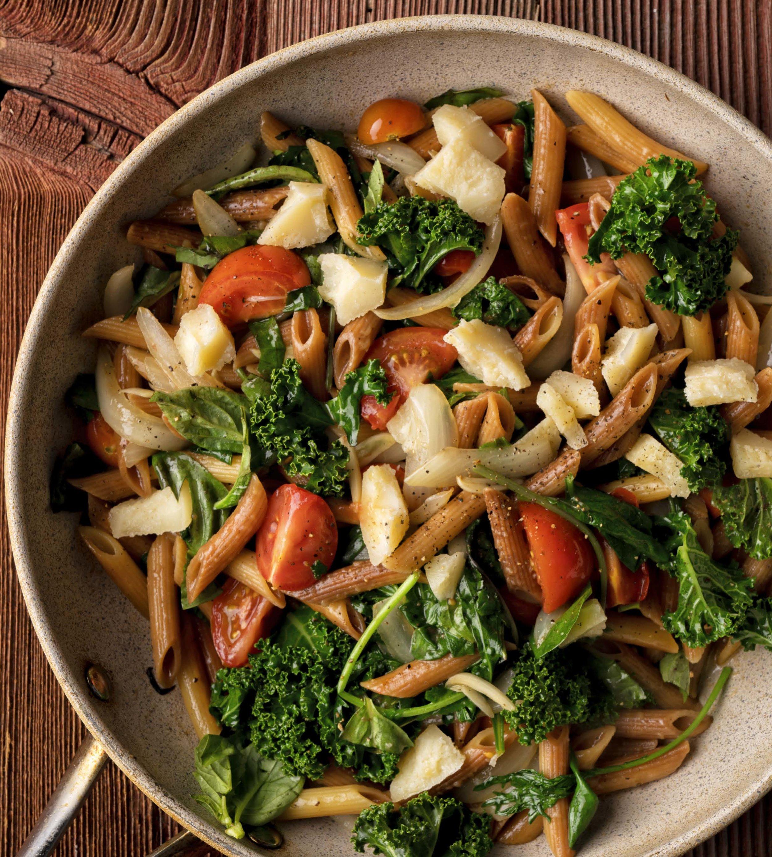 "Pan-Fried Pasta from ""The Okanagan Table"" - Global Dish - Stephanie Arsenault"