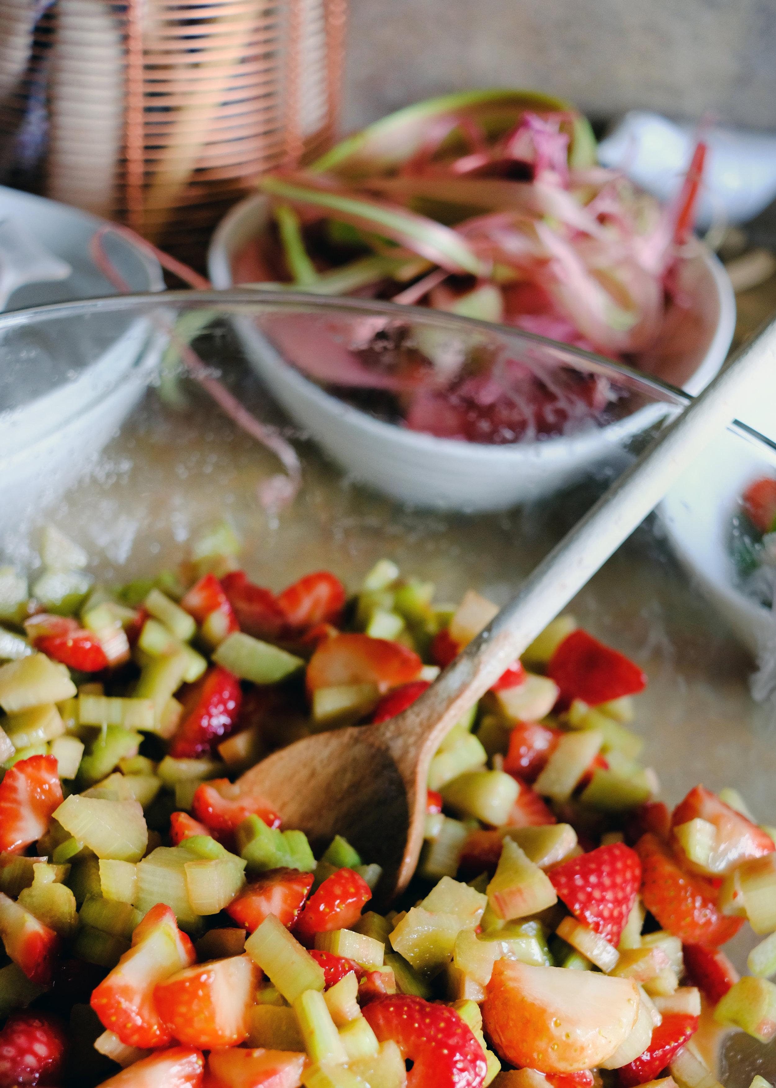 Overnight Strawberry-Rhubarb Pie - Global Dish - Stephanie Arsenault