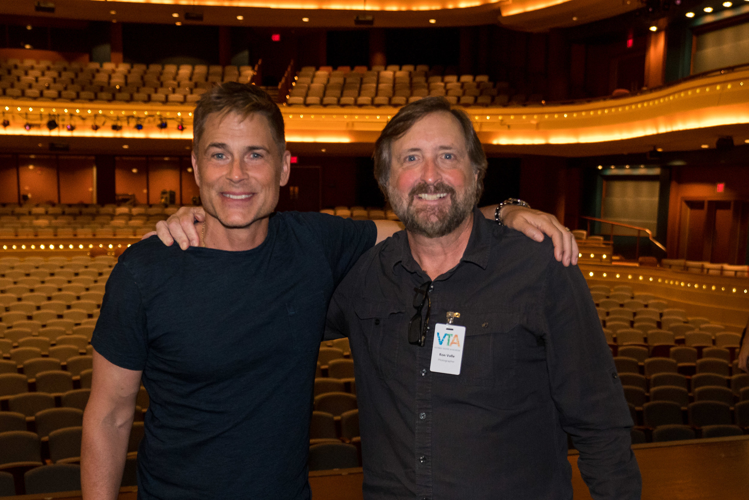Rob Lowe Meet and Greet at Dayton's Schuster Center