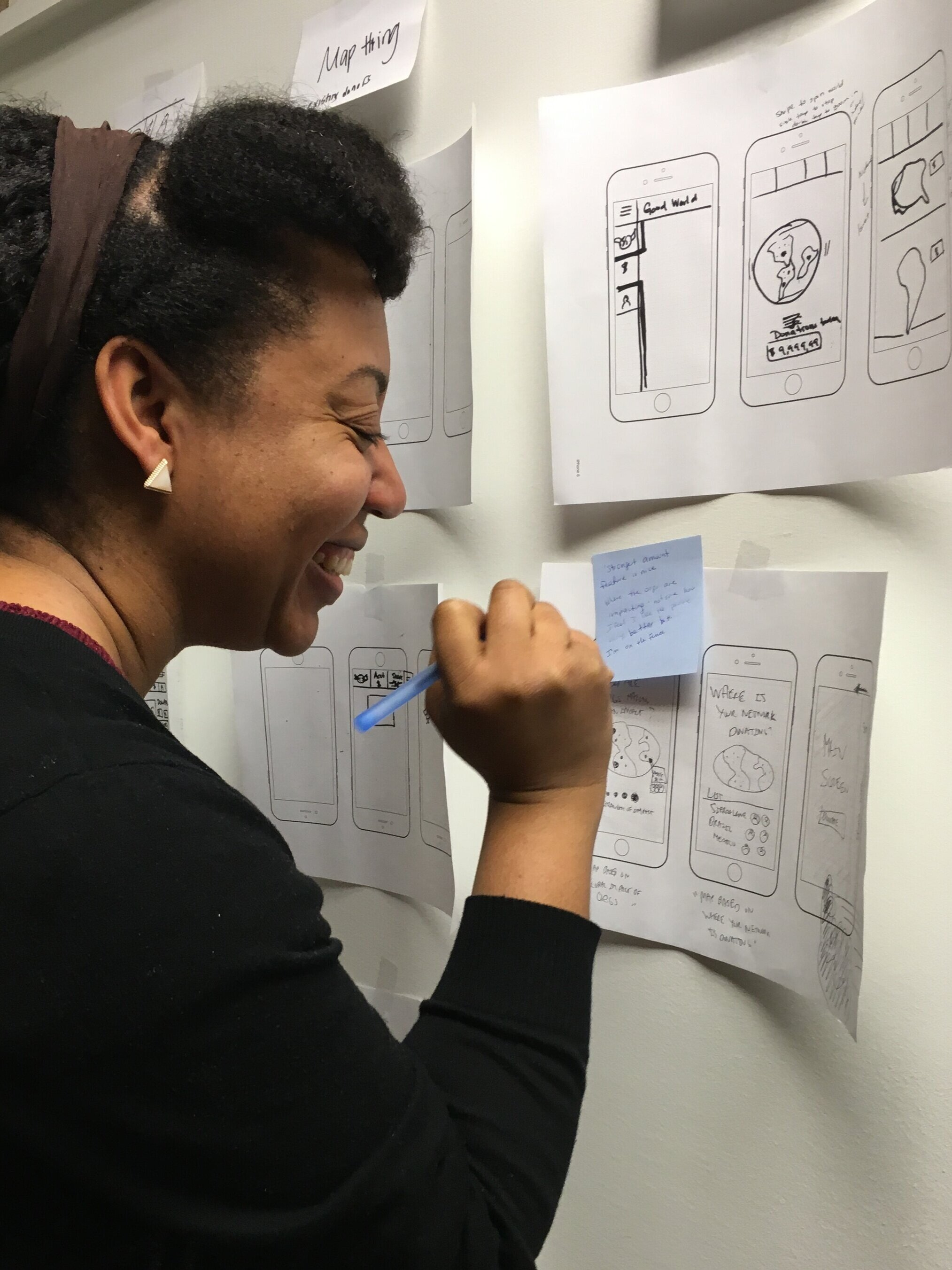 Hi! I'm Sherene, a UX Designer. - I am passionate about combining design and problem solving to be an advocate for the user.