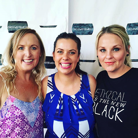 Circle Movement Co-Founders - Adelle Laing, Rachel Mills, Kristy Fox