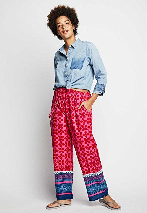 Get a pair of Christmas pajamas last-minute made by women at risk for human trafficking.