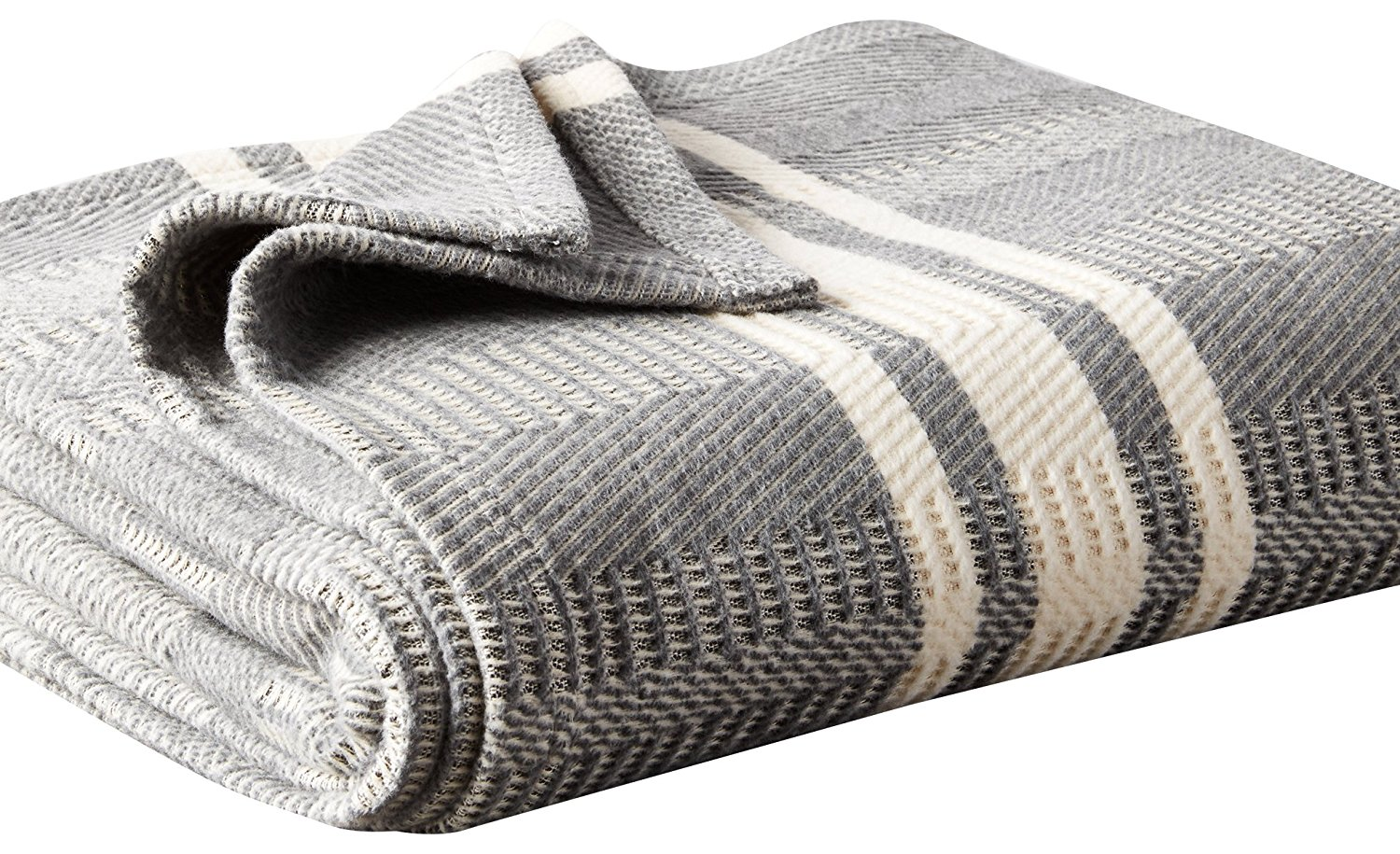 Curl up under this organic cotton blanket while opening up the rest of your presents on Christmas morning.