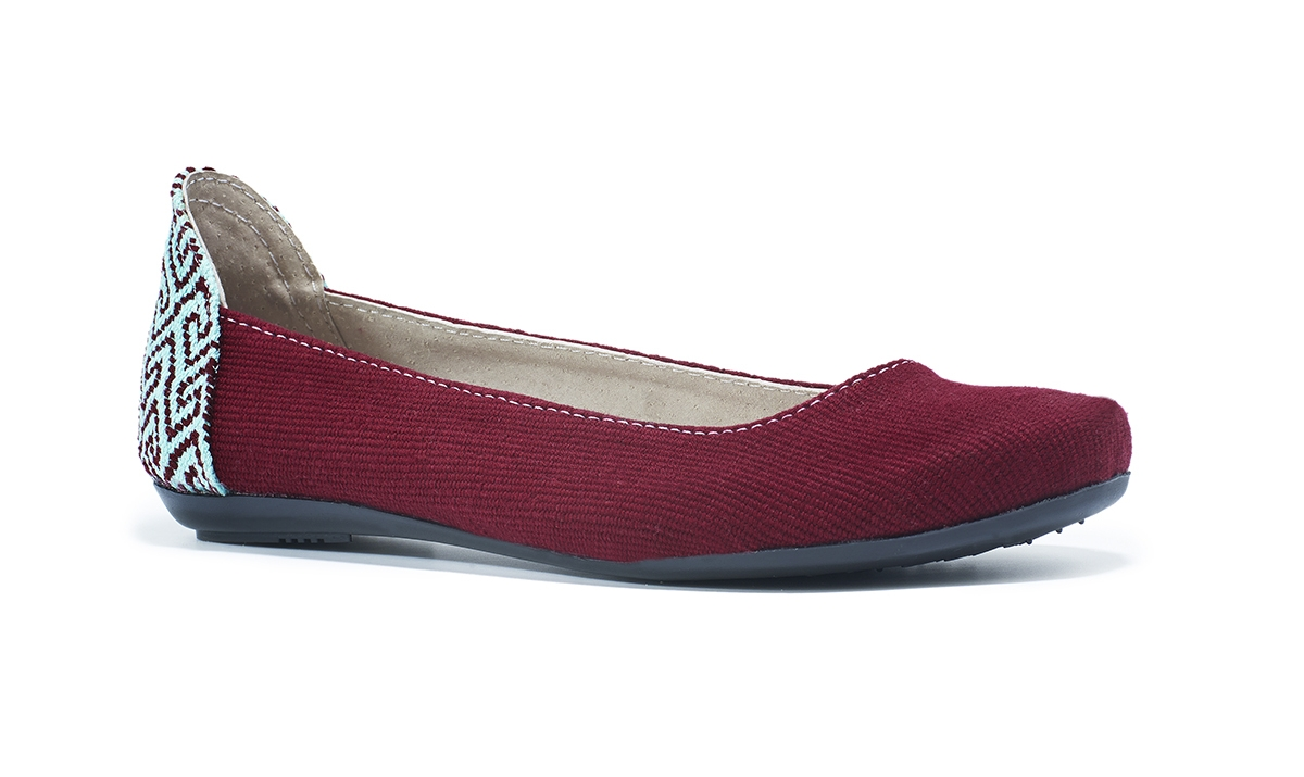 the root collective ballet flat