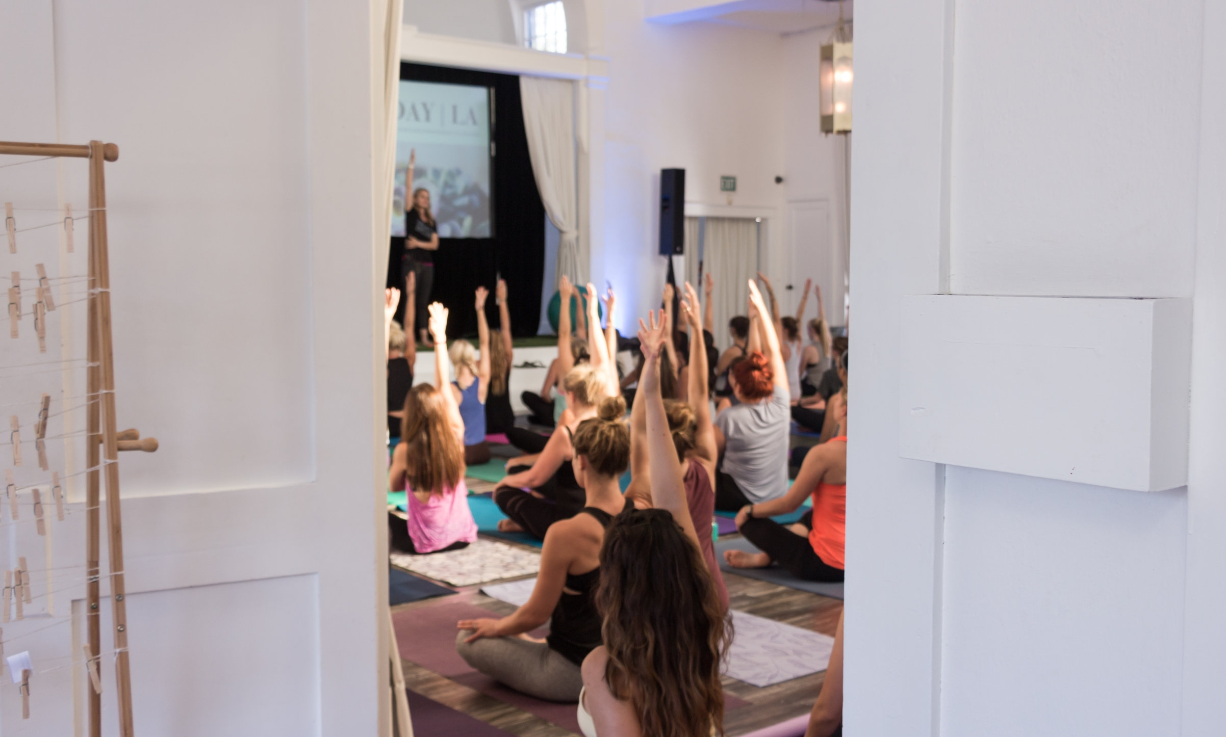 An all-levels yoga flow with Heather Young