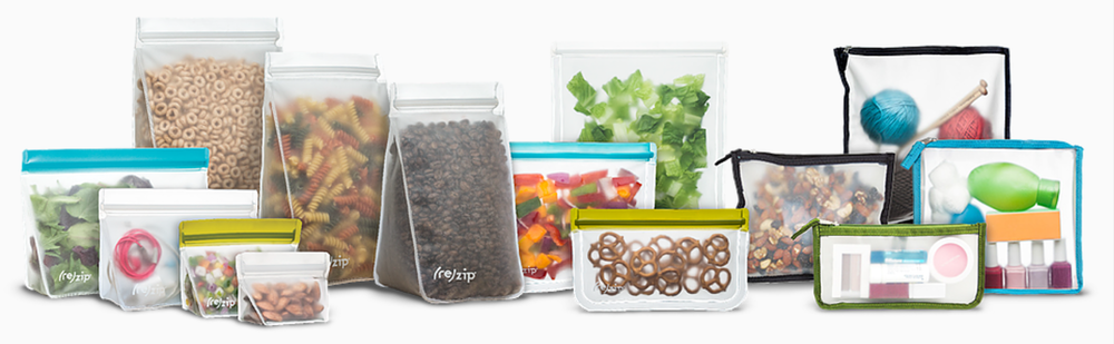 Blue Avocado, a B-Corp, has partnered with Terracycle®, to collect used packaging and products that would otherwise be destined for landfills, and turn it into innovative materials and products like the (re)zip!