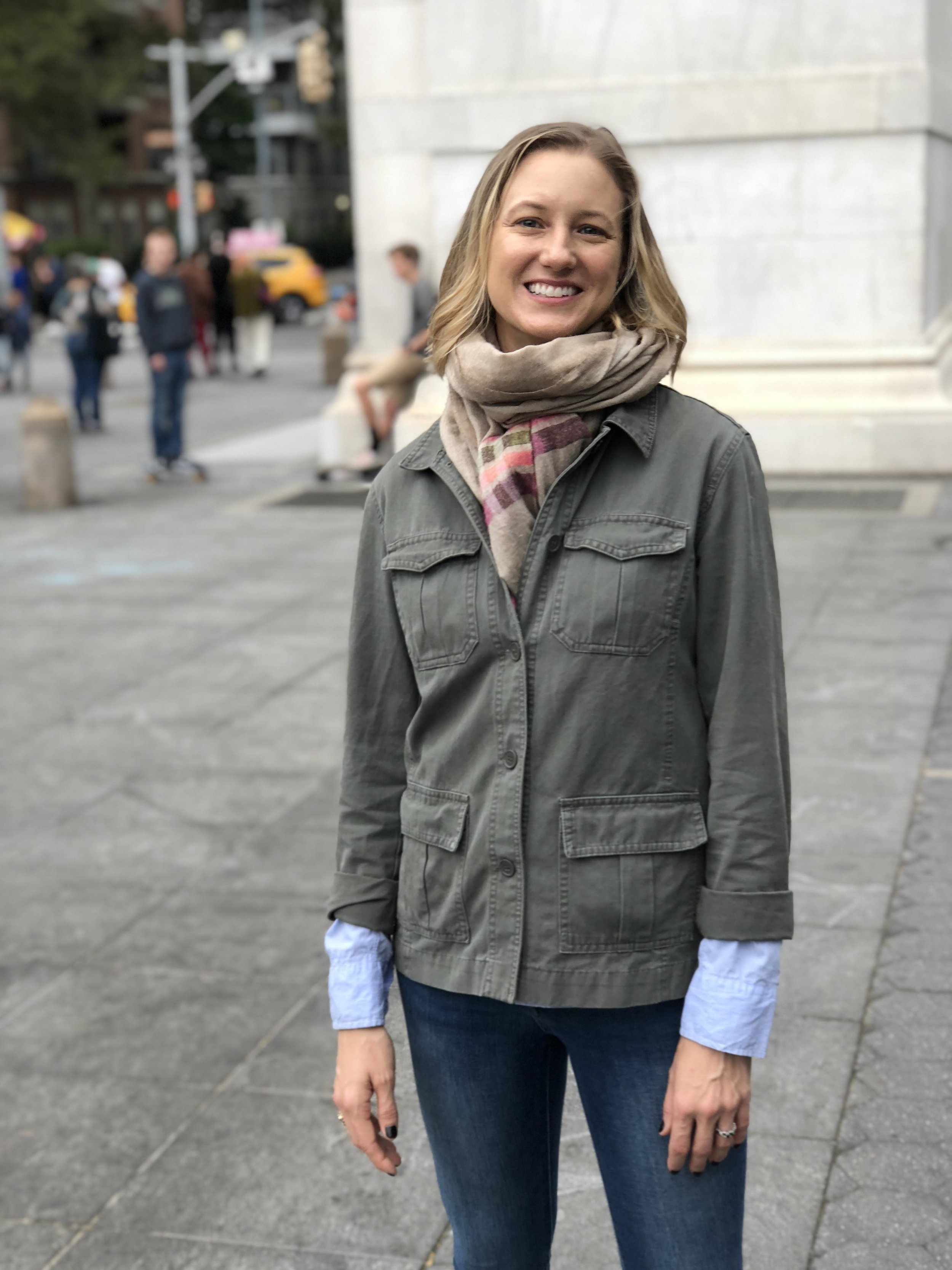 Amy, co-founder of Lucy & Jo, is wearing some incredible brands to celebrate: Jacket: @ mewe_clothing_ , Shirt: @ swapsociety , Scarf: @ bloomandgive , Jeans: @ dl1961denim .