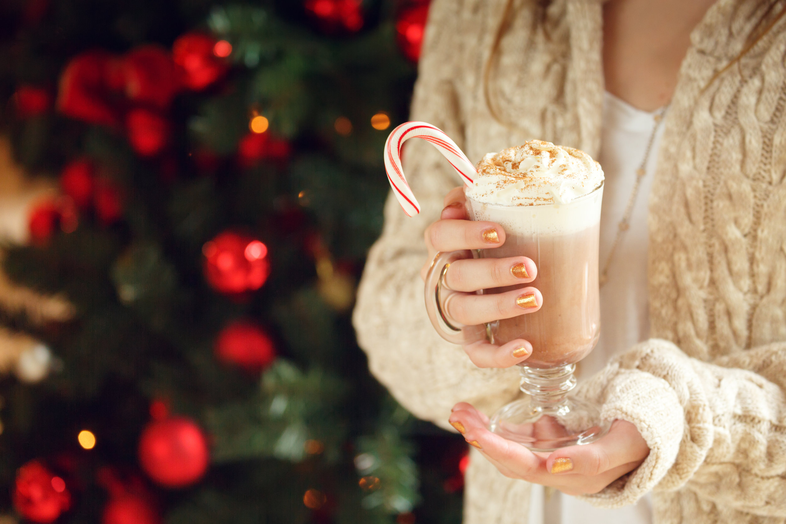 There's nothing quite like a peppermint latte at the holiday!