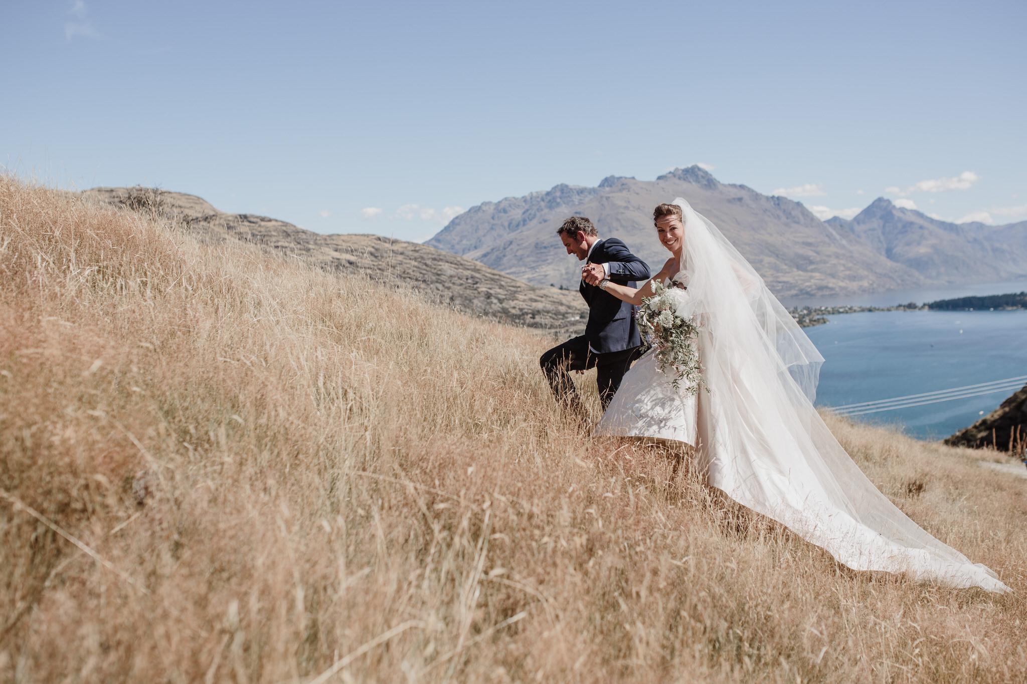 Liz + Campbell - NZ High Country, Queenstown NZ