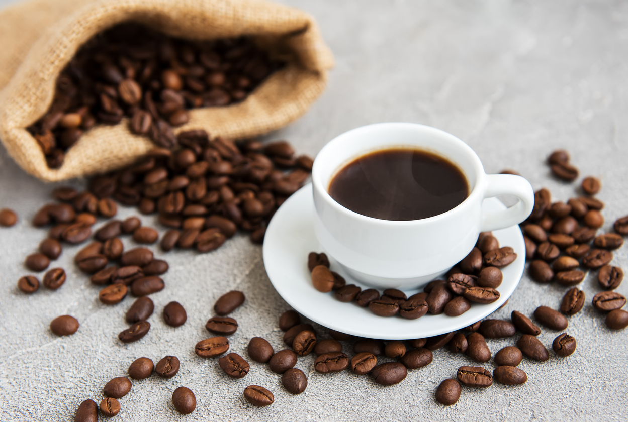 Coffee beans and cup of coffee.jpg