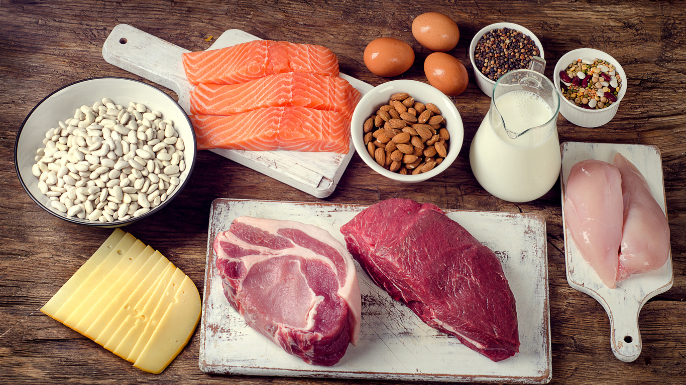 foods considered high in protein