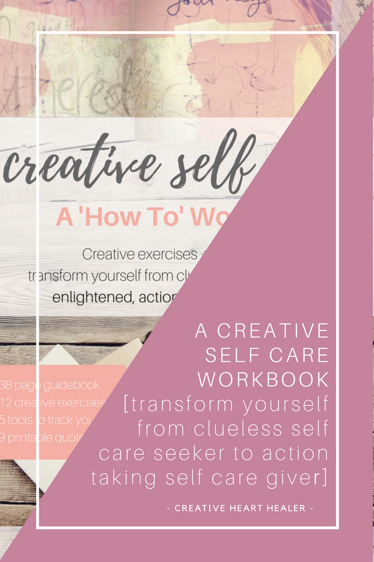 creative self care a how to workbook