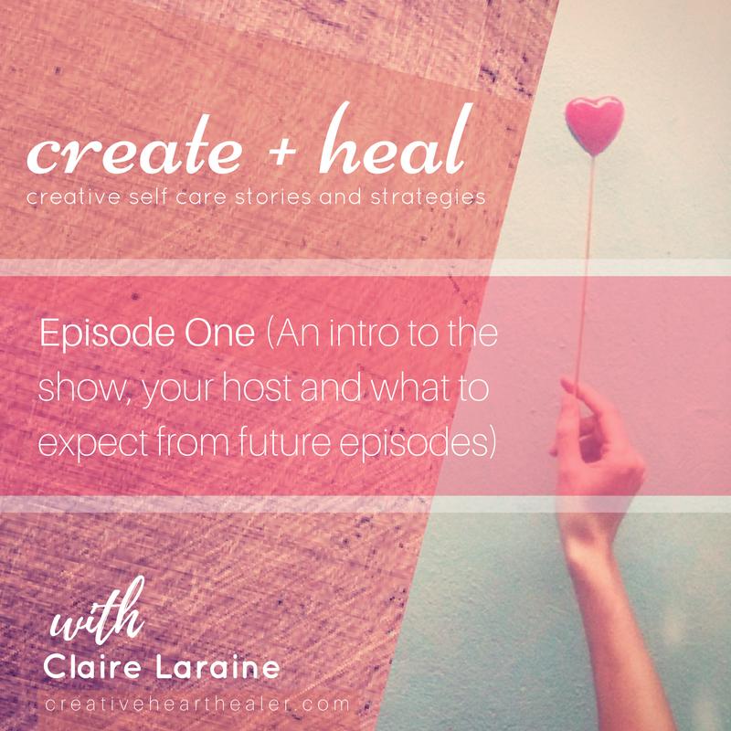 create + heal podcast