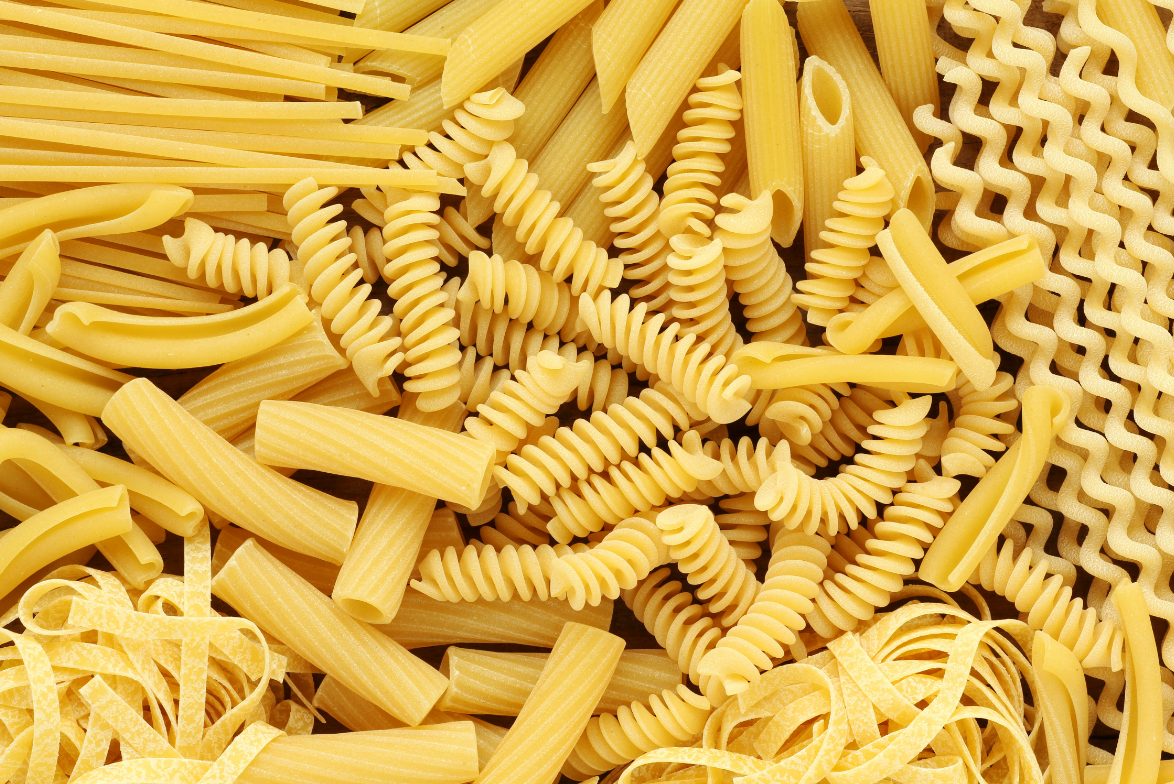 Pasta, Rice, Legumes