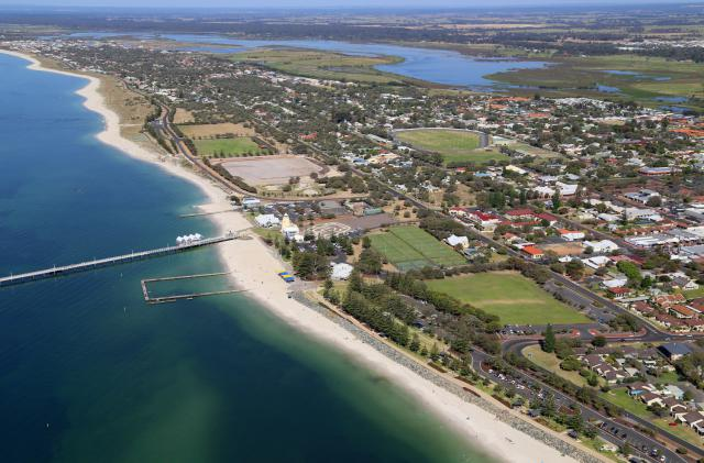 Aerial view of Busselton