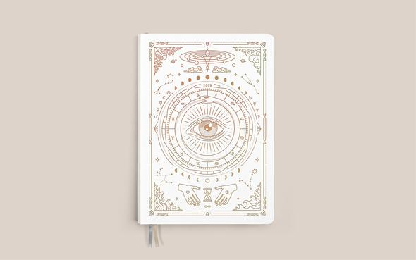 Magic of I 2019 Astrological Planner,   $45