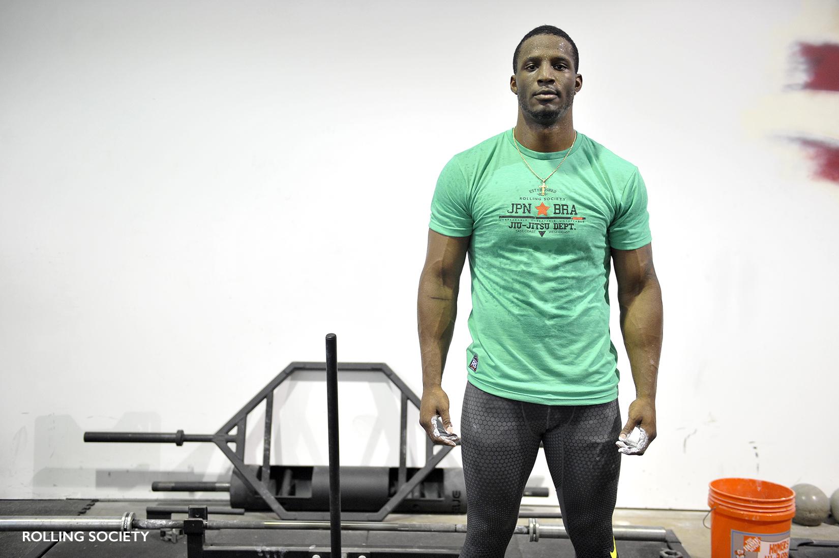 Karl Roberson Veteran Glory kickboxer and MMA fighter.