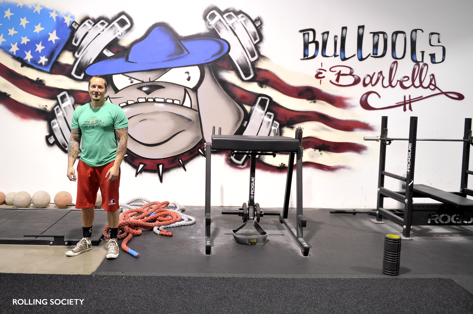 Keith strength and conditioning coach and owner of Bulldogs & Barbells