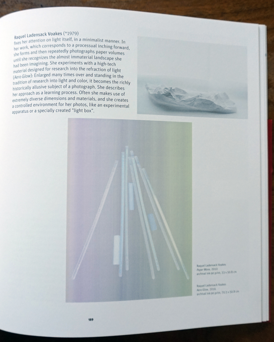 p.189 excerpt from  New Bauhaus Chicago: Experiment Photography , Bauhaus Archiv, Berlin Germany, curator Kristina Lowis