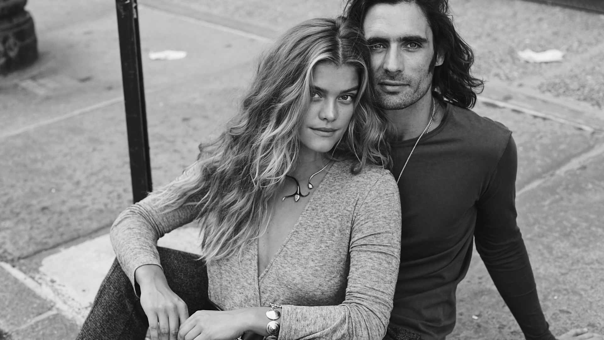 Video Still of Tyson Ritter and Nina Agdal by Lily Cummings