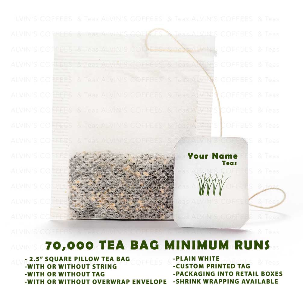 Teabag packing