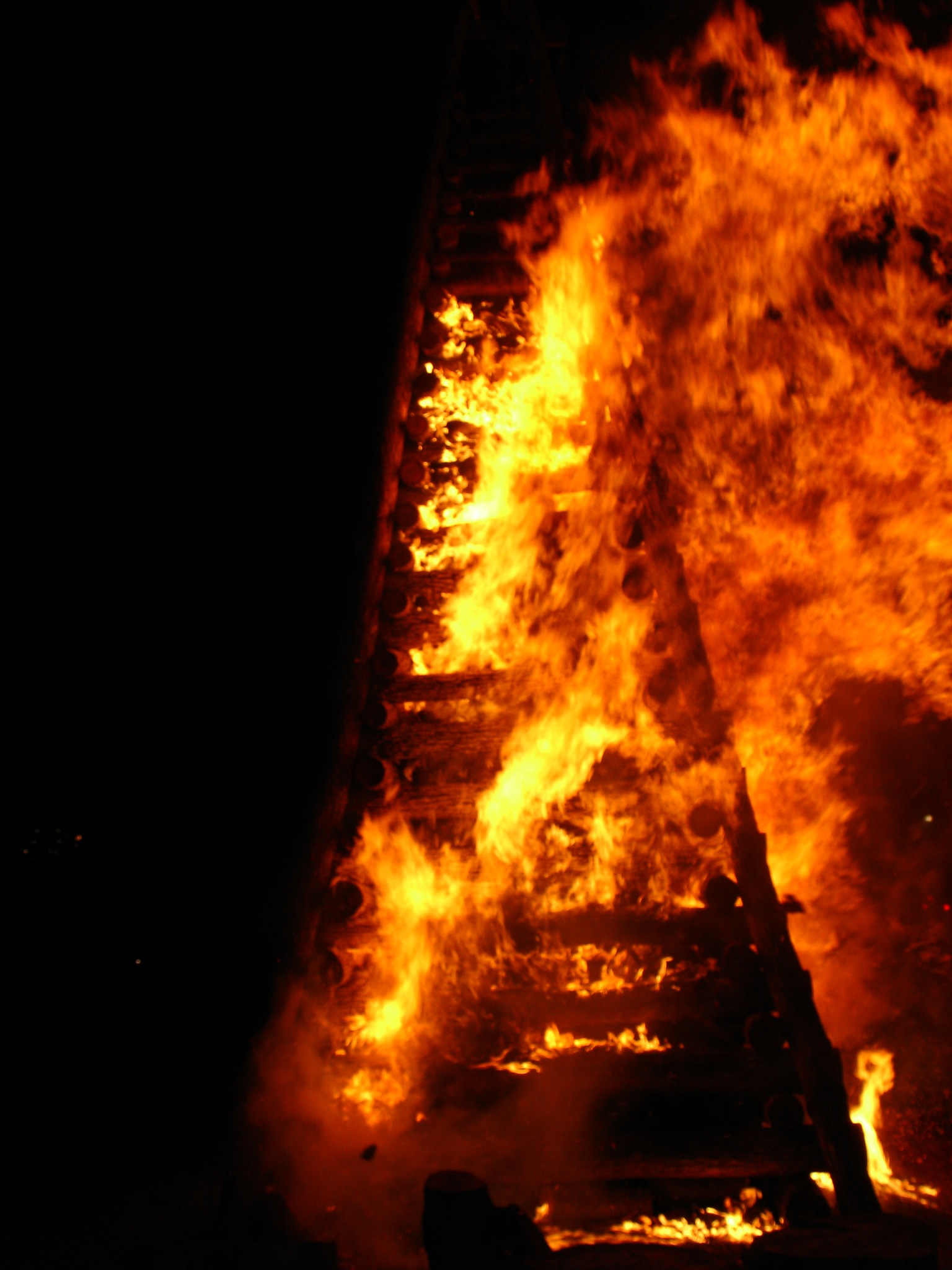 ©Ron Grenko on fire. burn